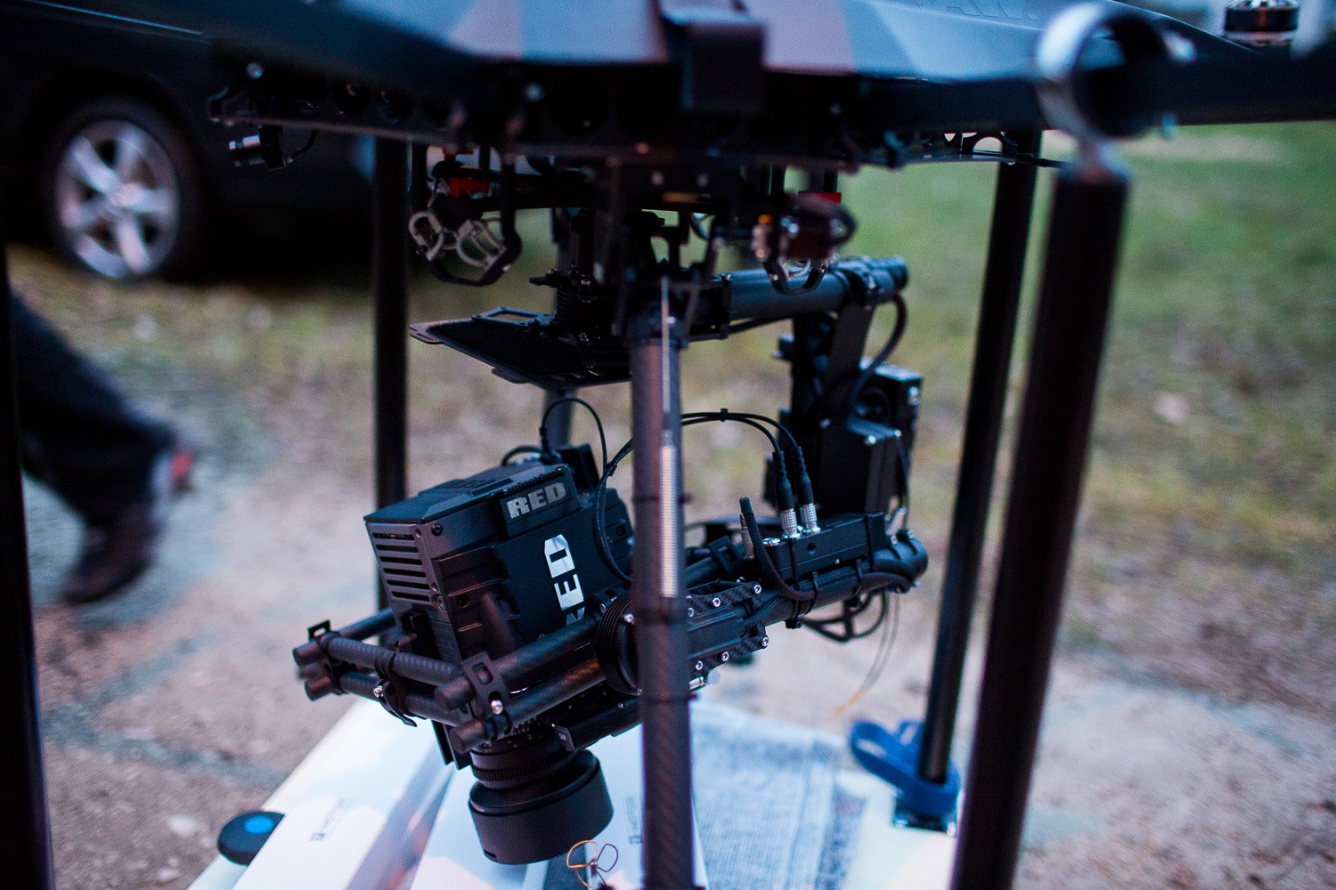 Red Scarlet, Red Luftaufnahmen, Movi M15, Gimbal, Copter