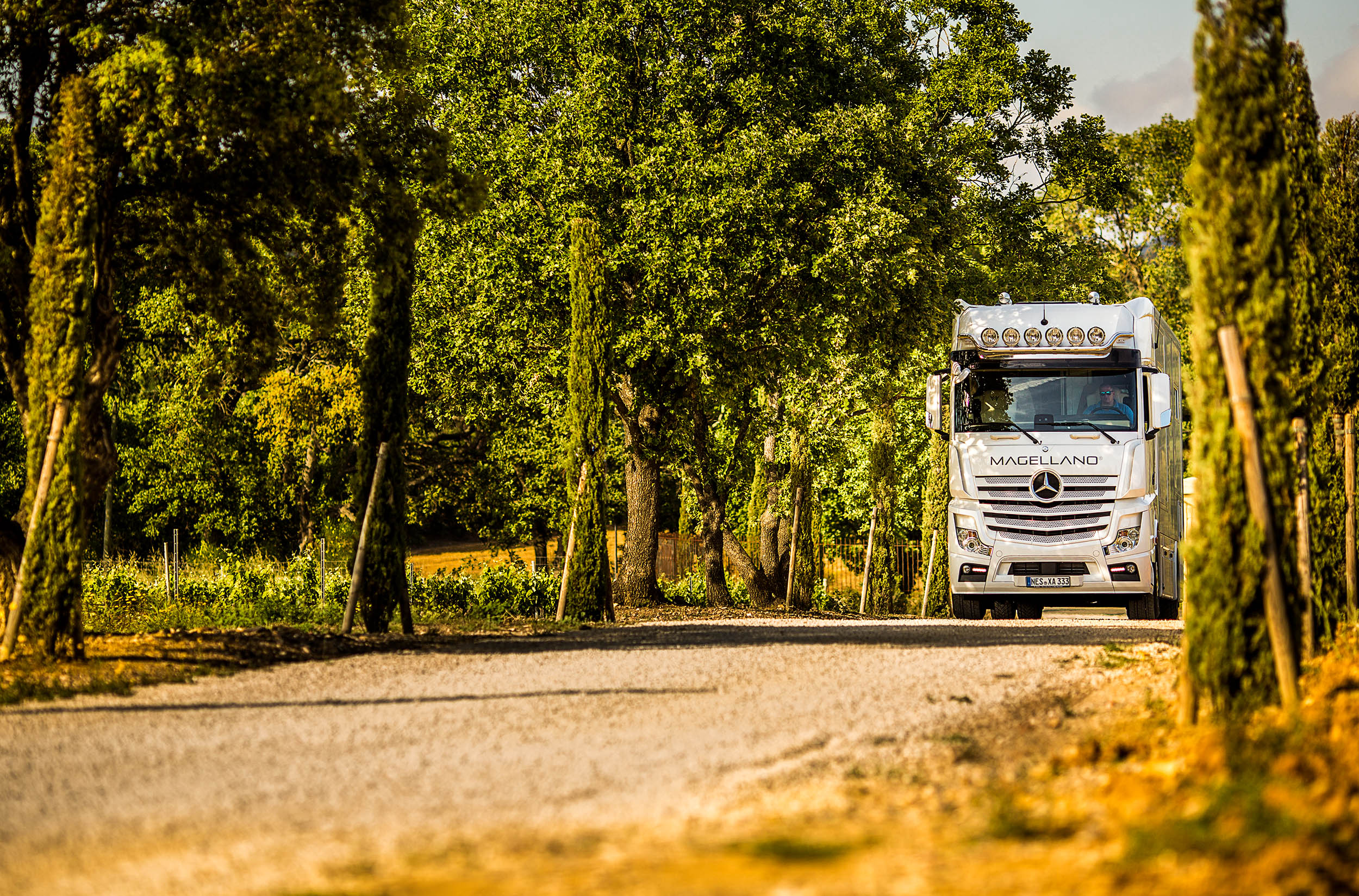 Chateau Saint Maur Photography Magellano Motorhome Luxury Wineyards