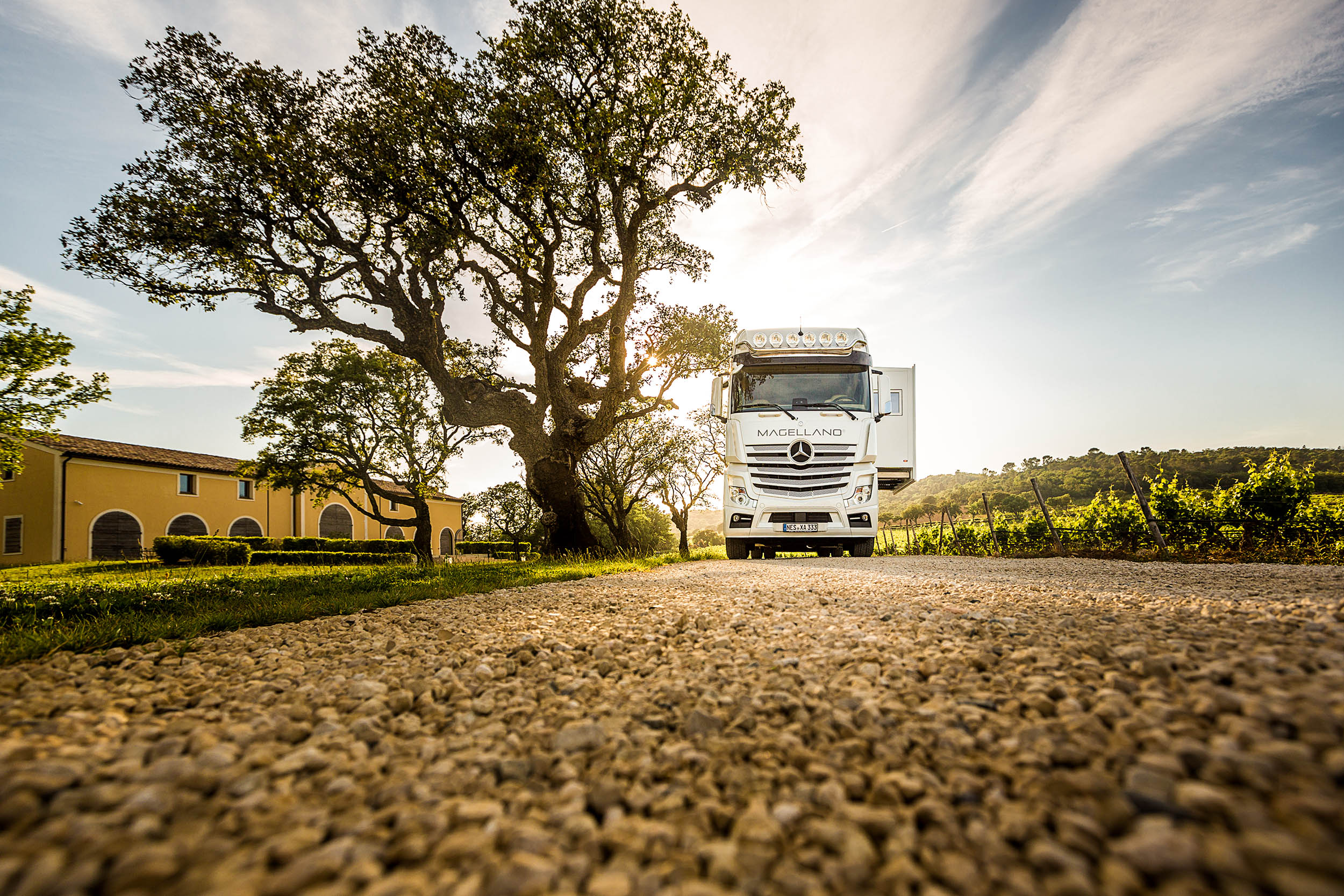 Chateau Saint Maur Photography Magellano Motorhome Luxury Photography France